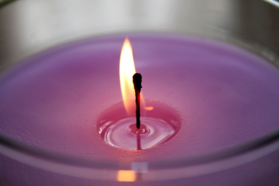 purple candle 2
