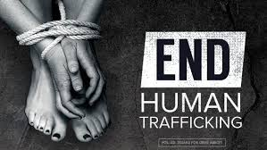end human trafficking poster