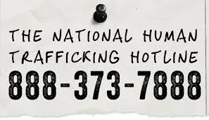 hotline number for human trafficking
